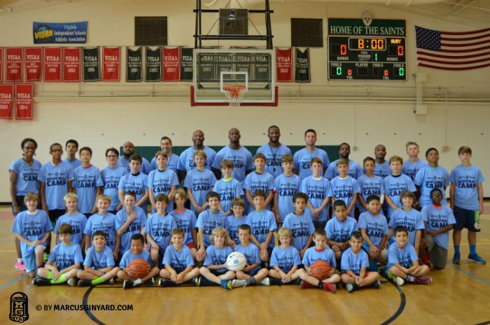 Marcus Ginyard Basketball Camp Alexandria 2016